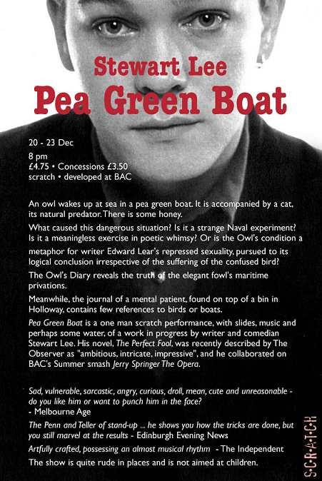 Pea Green Boat