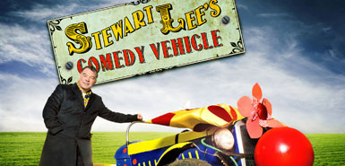 The brilliance of Stewart Lee's Comedy Vehicle