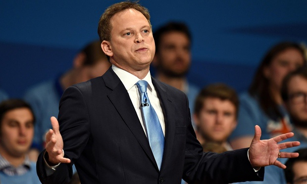 If Grant Shapps was made by little green aliens, what's left?