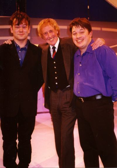 Lee & Herring - With Rod Hull in 1996