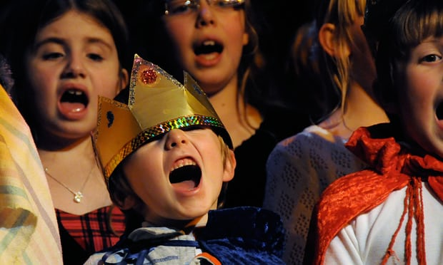 "'Nothing says ""Christmas"" like orchestrated mass indifference to the creative efforts of small children.' Photograph: Alamy Stock Photo"