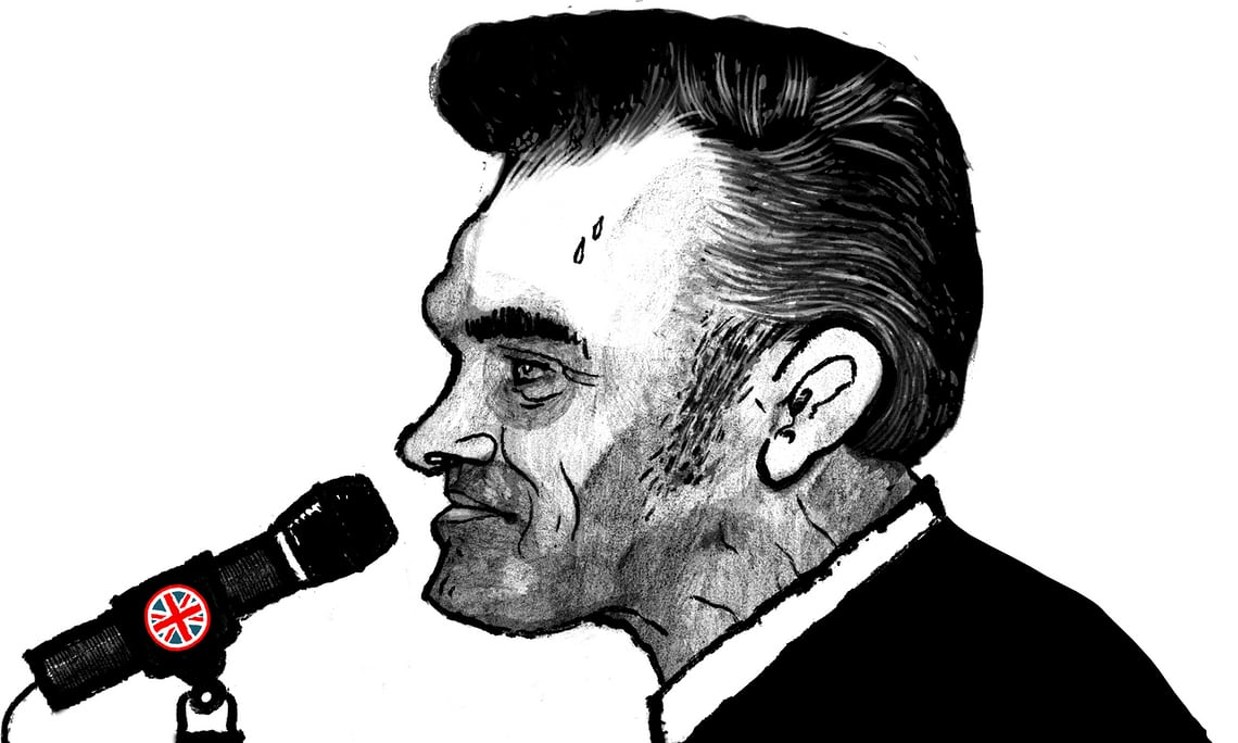 01639e3db459 Morrissey fans have for years equated his more unpalatable pronouncements  with the babblings of a beloved but out of touch relative.