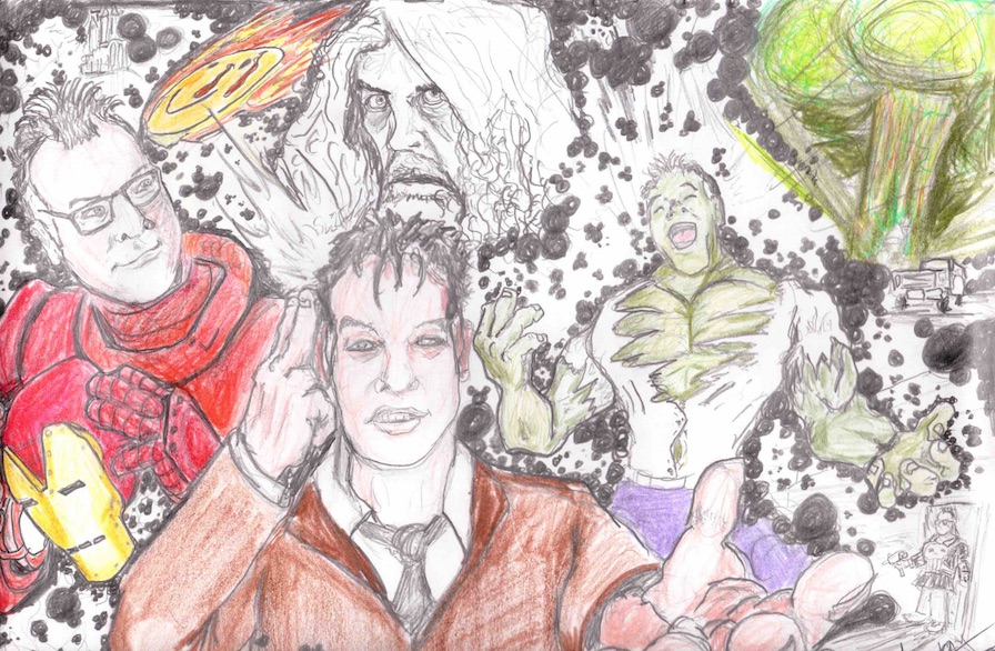 Marvel Art by Liam Maguire, Buxton