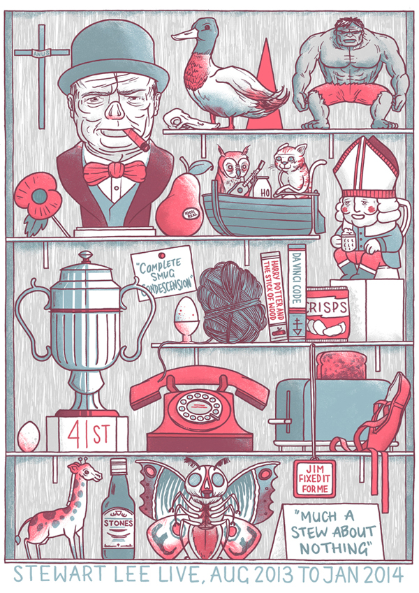 Much A-Stew About Nothing – Art Print / Poster by Luke Drozd