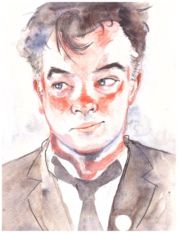 Watercolour by Helena Clarke
