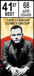Stewart Lee - Original A4 programme from August 2001 run