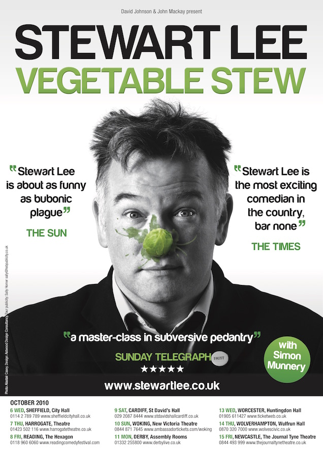 May 2011 - Final live dates of Vegetable Stew