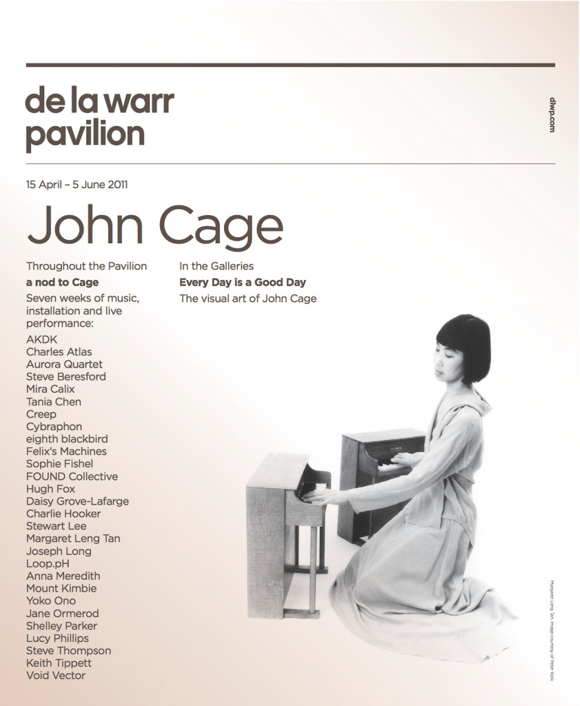 April – May 2011 - John Cage Indeterminacy