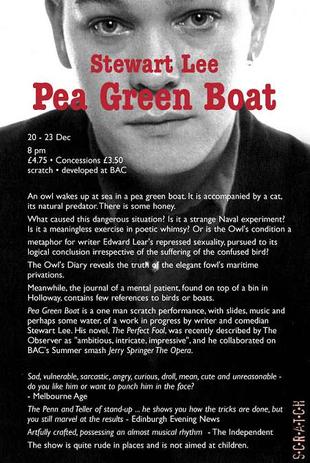 December 2001 - Pea Green Boat