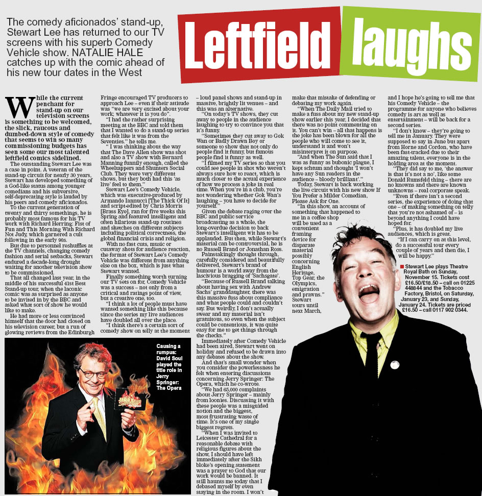 Leftfield Laughs