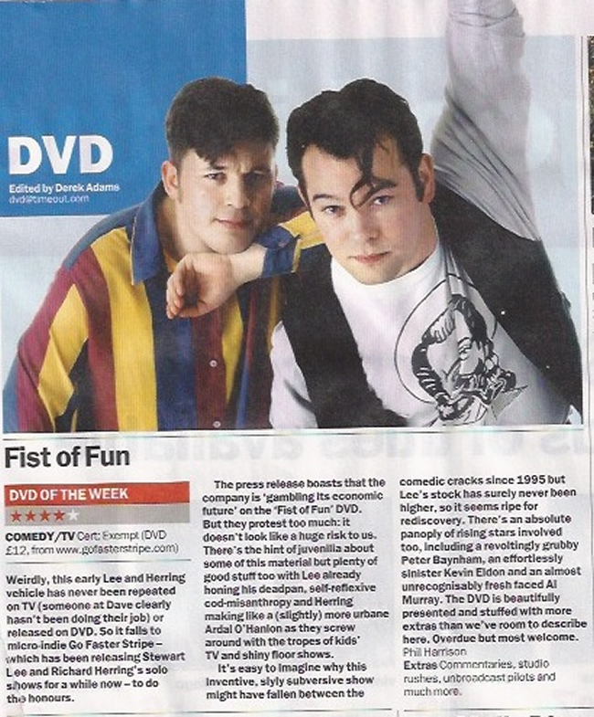 Time Out DVD Of The Week ★★★★