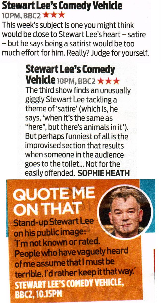 Stewart Lee's Comedy Vehicle Season 3