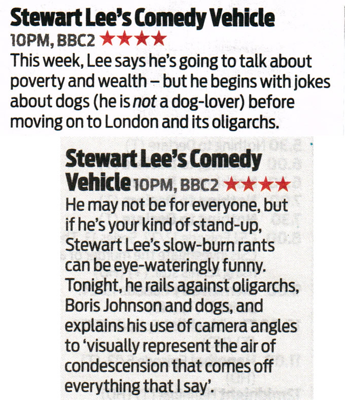 TV Picks ★★★★
