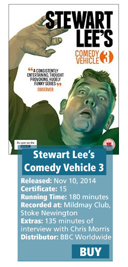 Stewart Lee's Comedy Vehicle Series 3 DVD