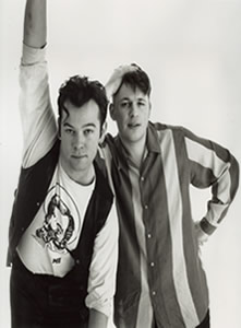 Lee & Herring - 1990s Promo Shot