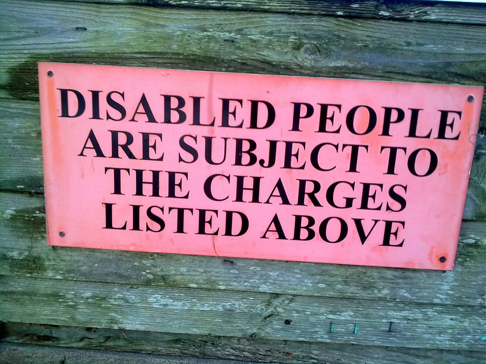 Sign. Porlock Weir.