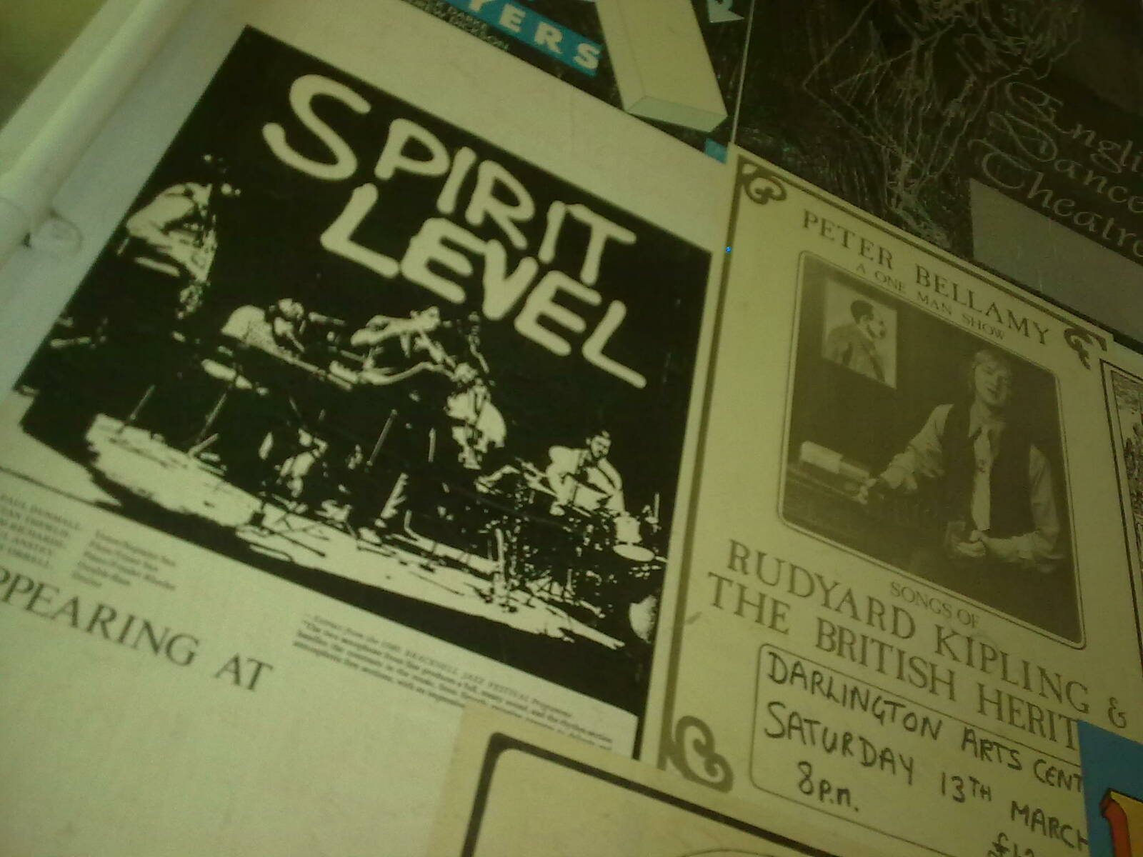 Fringe Posters from a better time, Darlington Arts (1)