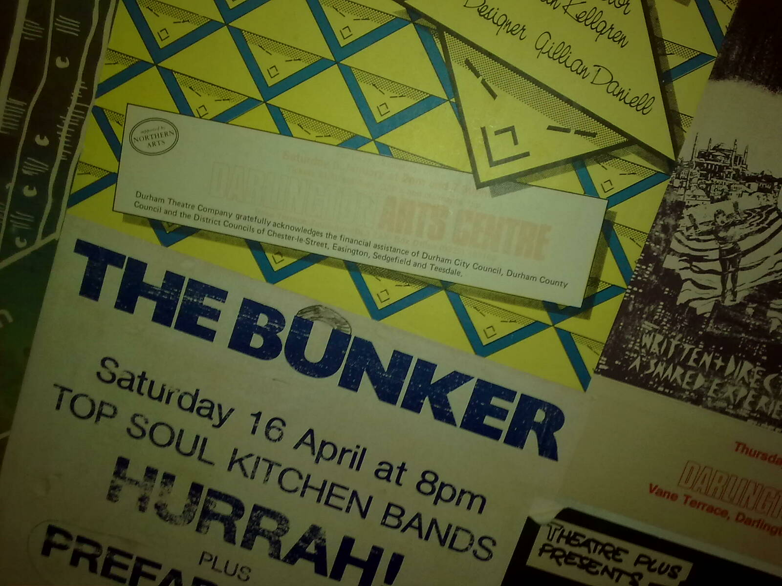 Fringe Posters from a better time, Darlington Arts (3)