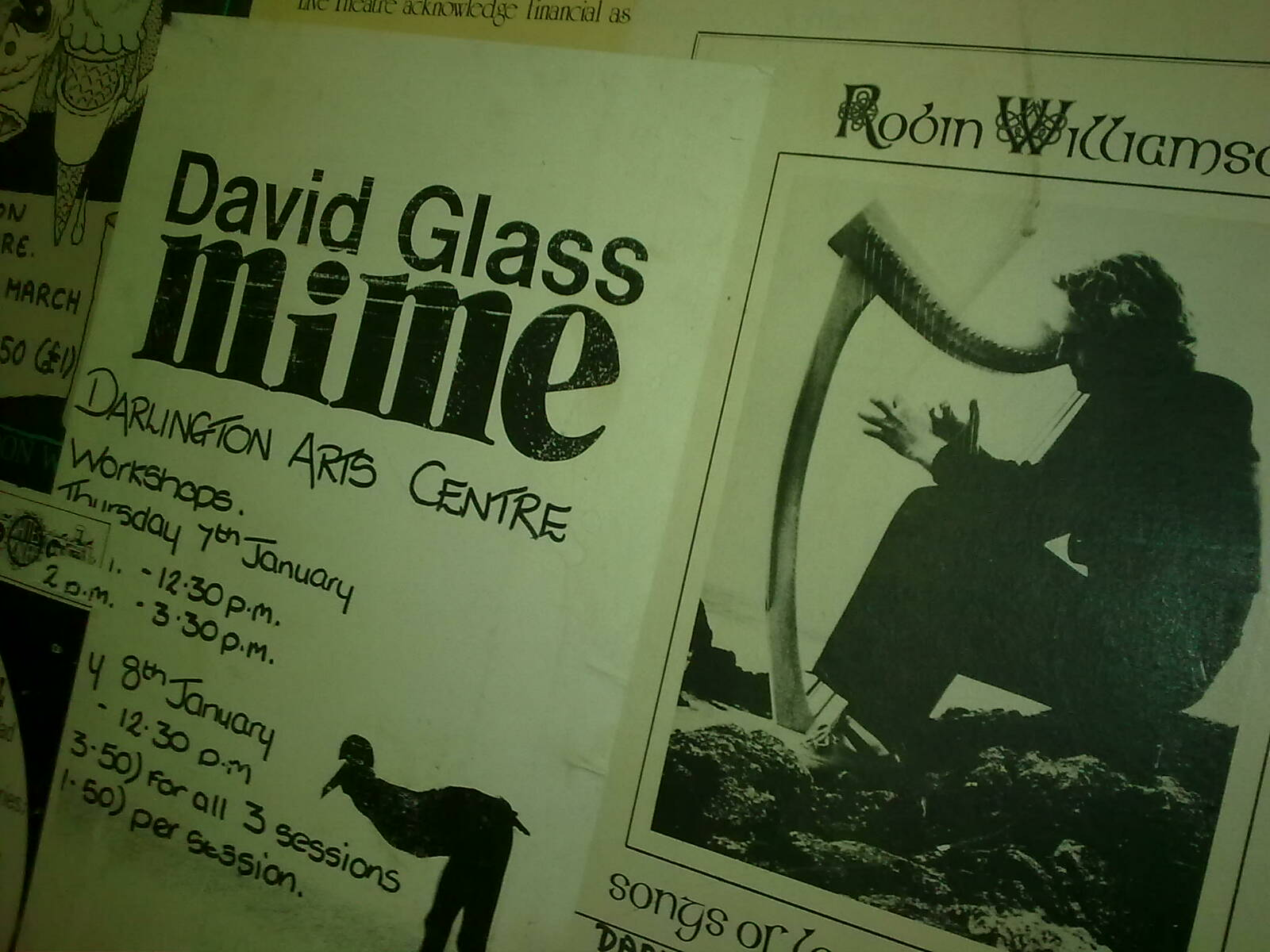 Fringe Posters from a better time, Darlington Arts (4)