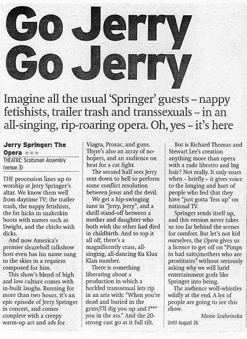 Go Jerry, Go Jerry