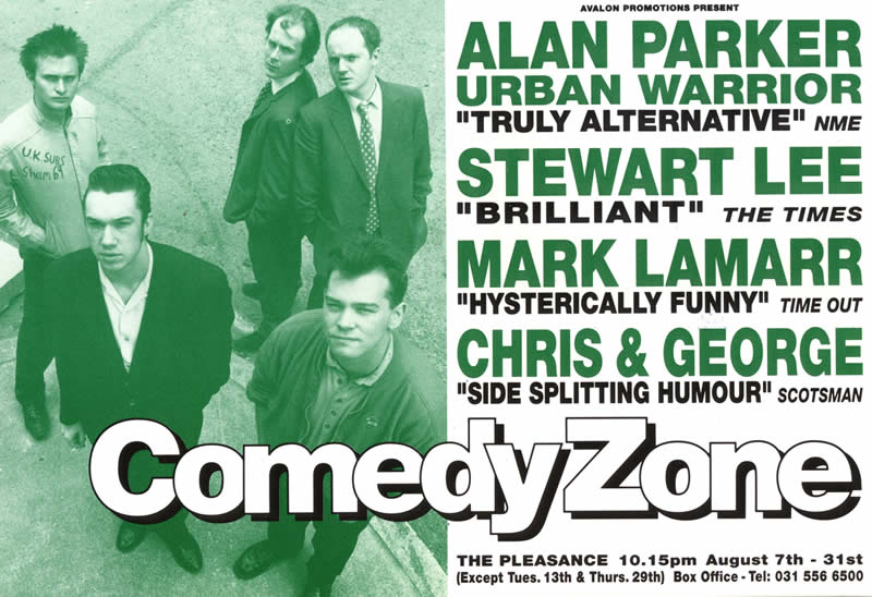 August 1991 - Comedy Zone Edinburgh