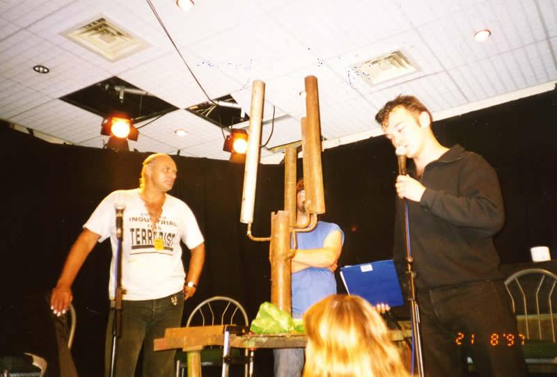 August 1998 - Edinburgh Fringe