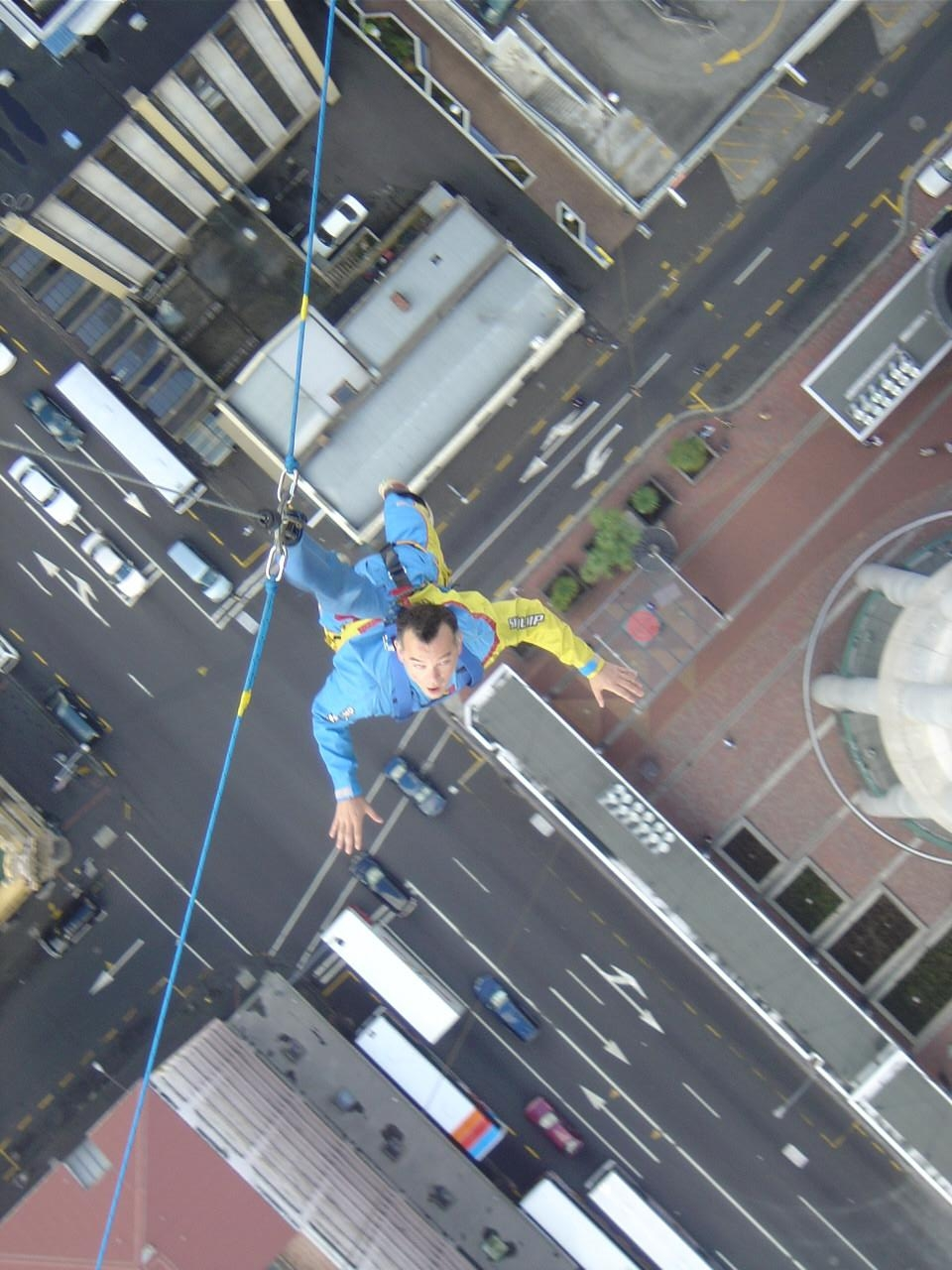 June 2005 - Kitty Flannagan made me jump off the highest building in the southern hemisphere.<br>