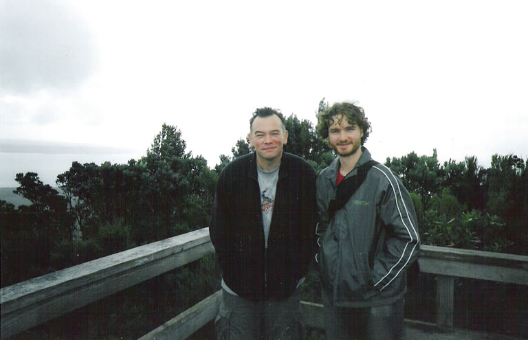 June 2005 - With Charlie Pickering in Auckland