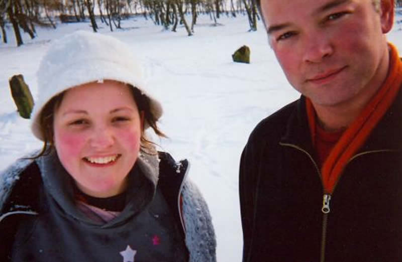 January - March 2005 - With Josie Long In Derbyshire