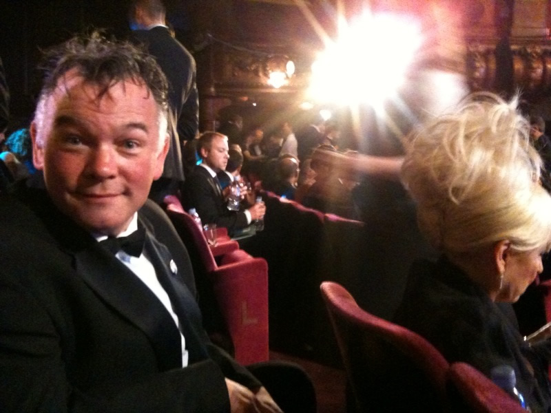 June 2010 - not winning a BAFTA