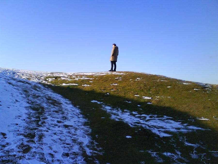 In Malvern, on the hills.