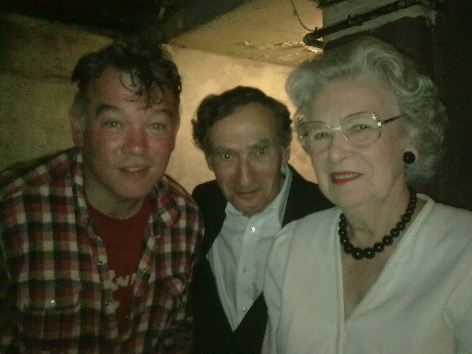 June 2010 - With Arnold Brown & The Queen