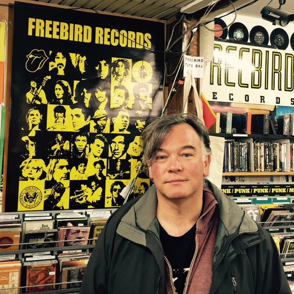 2015 - Freebird Records, one of Dublin's last record stores