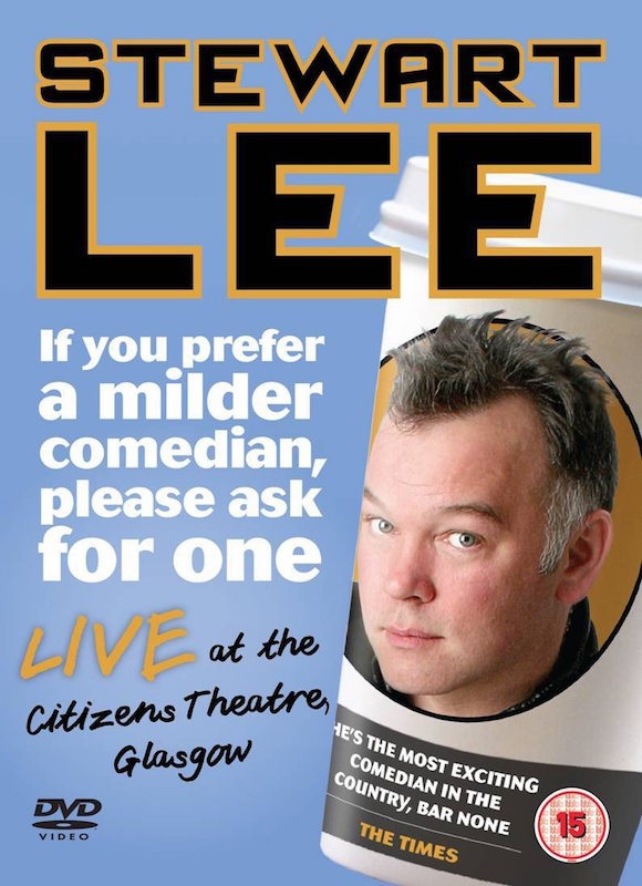 If You Prefer A Milder Comedian Please Ask For One DVD