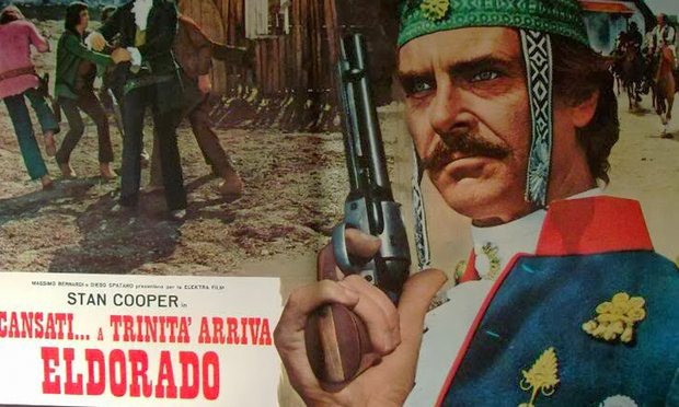 Full of nuts, watching a 70s western, I saw America's future…