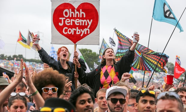 'Oh, Jeremy Clarkson'. Is that any better as a Glastonbury chant?