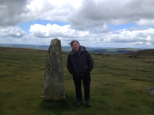 2015 - At Mitchell's Fold Stone Circle, Shropshire/Wales border