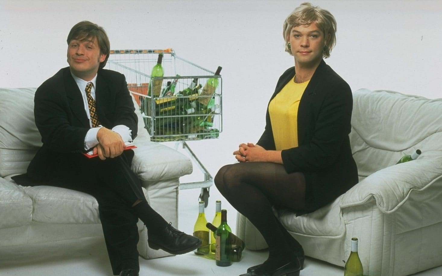 20 years of This Morning with Richard Not Judy: how Lee and Herring subverted Sunday TV and bewildered the BBC