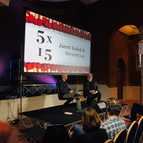 5×15 event, Interviewing Jarett Kobek