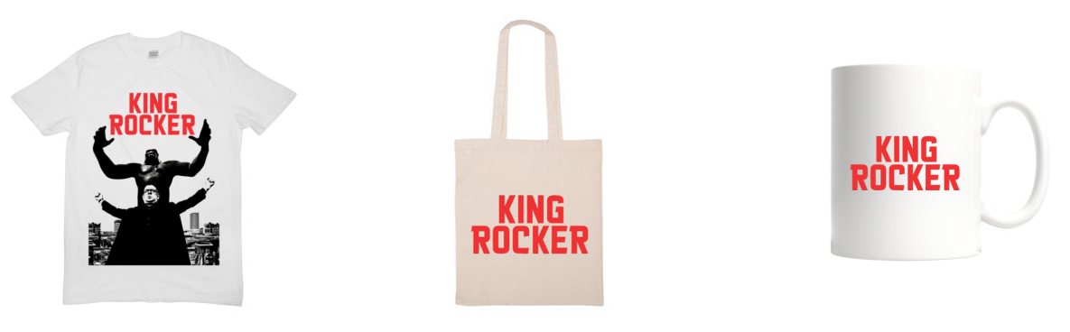 King Rocker Merchandise