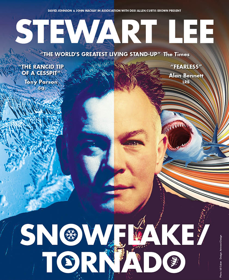 FROM THE METRO-LIB-ELITE DESK OF Stewart Lee – Snow-vembER 2019