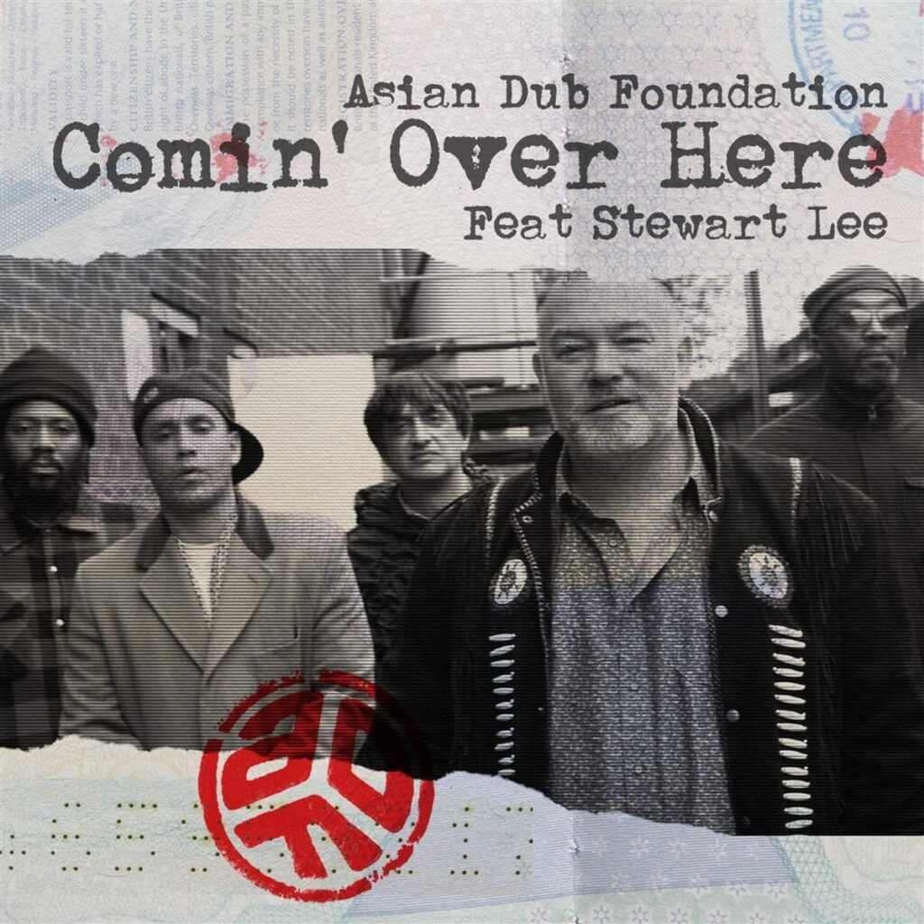 Asian Dub Foundation W/ Stewart Lee – Comin' Over Here Vinyl review